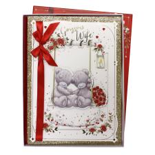 Gorgeous Wife Me to You Bear Valentines Day Boxed Card