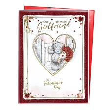 Amazing Girlfriend Me to You Bear Valentine's Day Boxed Card
