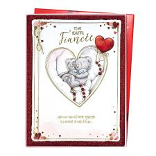 Beautiful Fiancee Me to You Bear Valentine's Day Boxed Card