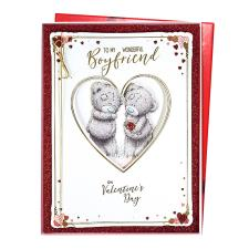 Wonderful Boyfriend Me to You Bear Valentine's Day Boxed Card