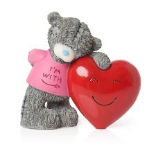With Hugs And Smiles Me to You Bear Figurine