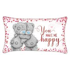 You Make Me Happy Me to You Bear Cushion