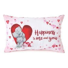 Happiness Is Me and You Me to You Bear Cushion