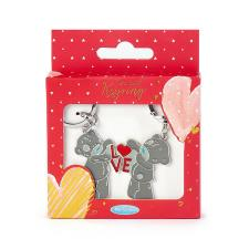 Love Letters 2 Part Me to You Bear Key Ring