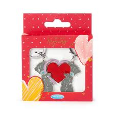 Love Heart 2 Part Me to You Bear Key Ring