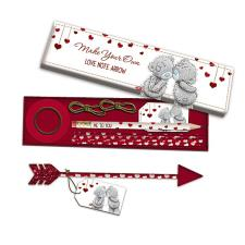 Love Note Arrow Me to You Bear Stationery Set