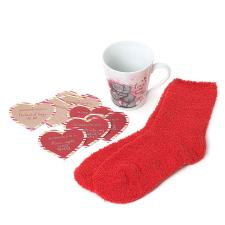 Mug, Socks & Love Tokens Me To You Bear Gift Set