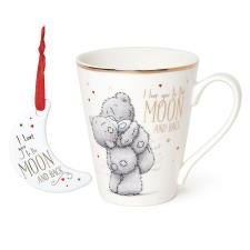 Love You To The Moon Me To You Mug & Plaque Gift Set