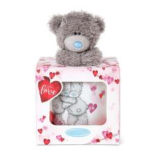 With Love Me to You Bear Mug & Plush Gift Set