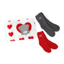 Sole Mates Me to You Bear Blanket & Socks Gift Set