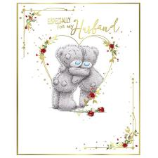 Especially For My Husband Handmade Me to You Bear Valentine's Day Card