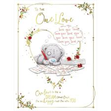 One I Love Large Me to You Bear Valentine's Day Card
