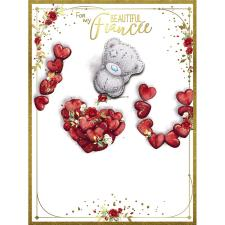 Beautiful Fiancee Large Me to You Bear Valentine's Day Card