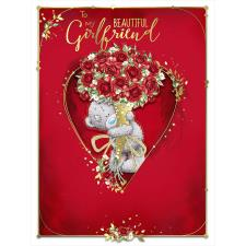 Beautiful Girlfriend Large Me to You Bear Valentine's Day Card
