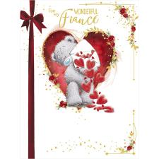 Wonderful Fiance Large Me to You Bear Valentine's Day Card