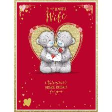 Beautiful Wife Large Me to You Bear Valentine's Day Card