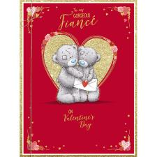 Gorgeous Fiance Large Me to You Bear Valentine's Day Card