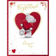 Amazing Boyfriend Large Me to You Bear Valentine's Day Card