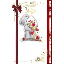 Wife Luxury Handmade Me to You Bear Valentine's Day Card