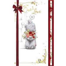 One I Love Luxury Handmade Me to You Bear Valentine's Day Card