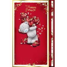 Fiance Luxury Handmade Me to You Bear Valentine's Day Card