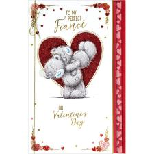 Perfect Fiance Handmade Me to You Bear Valentine's Day Card