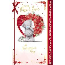One I Love Handmade Me to You Bear Valentine's Day Card