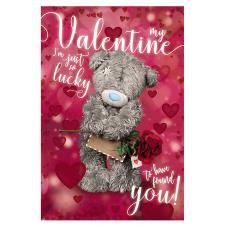 3D Holographic Lucky Valentine Me to You Bear Valentines Day Card