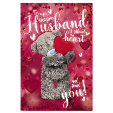 3D Holographic Amazing Husband Me to You Bear Valentines Day Card