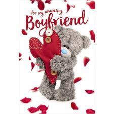 3D Holographic Boyfriend Me to You Bear Valentine's Day Card