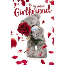 3D Holographic Perfect Girlfriend Me to You Bear Valentine's Day Card