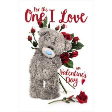 3D Holographic One I Love Me to You Bear Valentine's Card