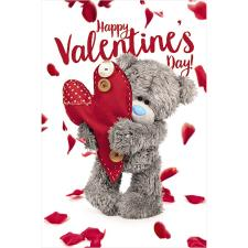 3D Holographic Tatty Teddy Heart Me to You Bear Valentine's Day Card