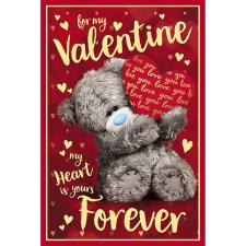 3D Holographic My Heart Is Yours Me to You Valentine's Day Card
