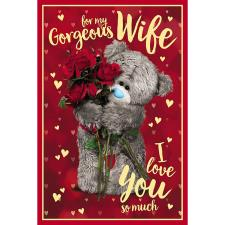3D Holographic Gorgeous Wife Me to You Valentine's Day Card