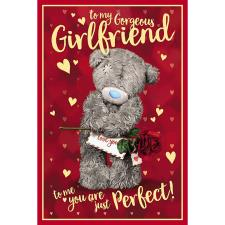 3D Holographic Gorgeous Girlfriend Me to You Valentine's Day Card