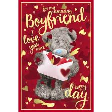 3D Holographic Amazing Boyfriend Me to You Valentine's Day Card