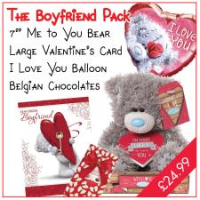 Boyfriend Valentines Day Pack
