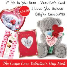 Large Love Valentines Day Gift Pack