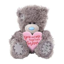 "4"" You & Me Padded Hear Me to You Bear"