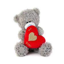 "4""  I Love You Padded Heart Me to You Bear"