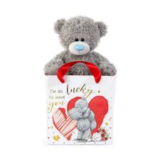 "5"" Lucky To Have You Me to You Bear In Bag"