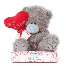 "7"" One I Love Heart Balloon Personalisable Me to You Bear"