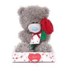 "7"" Personalise Your Own Holding Rose Me to You Bear"