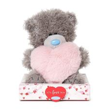 "7"" Pink Fur Heart Me to You Bear"