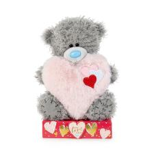 "7"" Pink Padded Heart Me to You Bear"