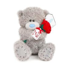 "8"" Holding Rose Me To You Bear"