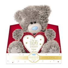 "9"" Padded Love Heart Verse Me to You Bear"