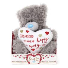 "9"" Padded Girlfriend Heart Me to You Bear"