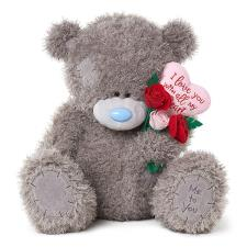 "24"" Padded Heart & Bouquet Me to You Bear"